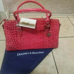 NWT Dooney & Bourke Cherry Domed Satchel NI43CY